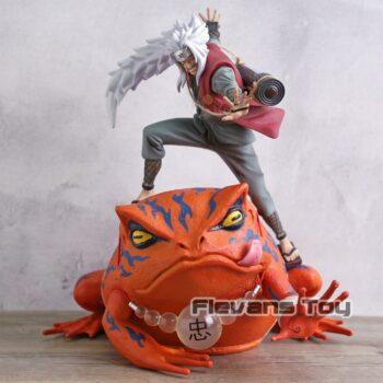Naruto – Jiraiya Sensei and Gamabunta PVC Action Figure (2 Designs) Action & Toy Figures