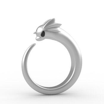 Pokemon – Dratini Themed Premium Rings (3 Designs) Rings & Earrings