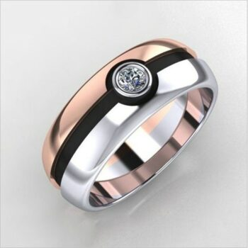 Pokemon – Pokeball themed cute and stylish Ring (Different Sizes) Rings & Earrings