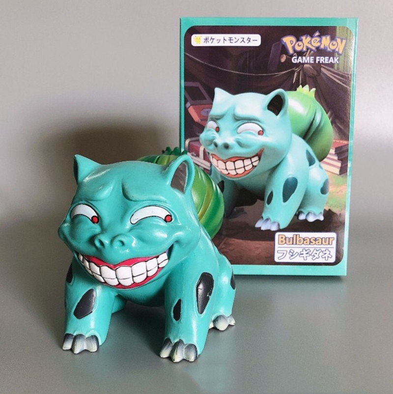 Pokemon – Different Pokemons Funny Laughing PVC Action Figures (7 Designs) Action & Toy Figures