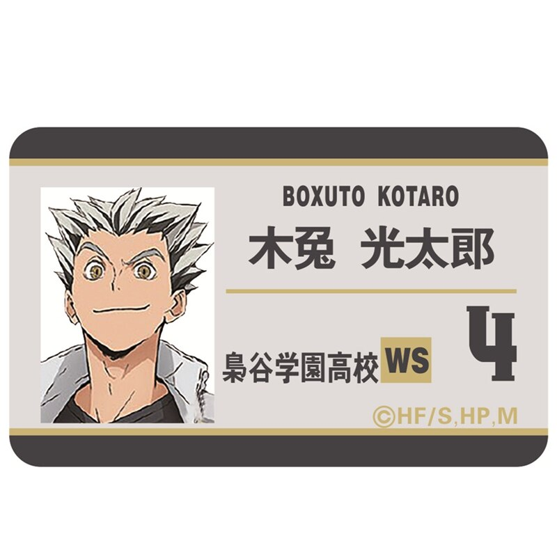 Haikyuu!! – All Amazing Characters' ID Cards with their Numbers (10+ Designs) Cosplay & Accessories