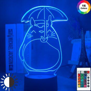 My Neighbor Totoro – Totoro Themed Cute Lighting Lamp (7/16 Colors) Lamps