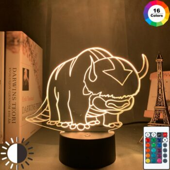 Avatar The Last Airbender – Different Cool Characters Premium Night Lamps (3 Designs) Lamps