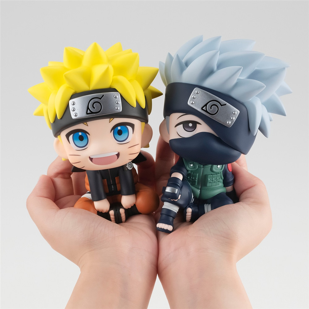 Naruto – Kakashi and Naruto Themed Cute Little Action Figures (Box/No Box) Action & Toy Figures