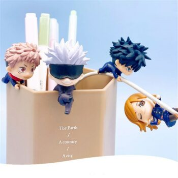 Jujutsu Kaisen – The Four Main Characters Action Figures (Set of 4) Action & Toy Figures