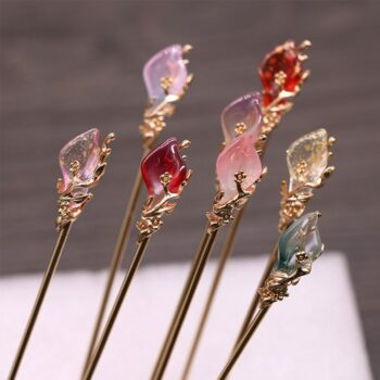 Japanese and Chinese Culture Themed Beautiful Hairclips (10+ Designs) Cosplay & Accessories