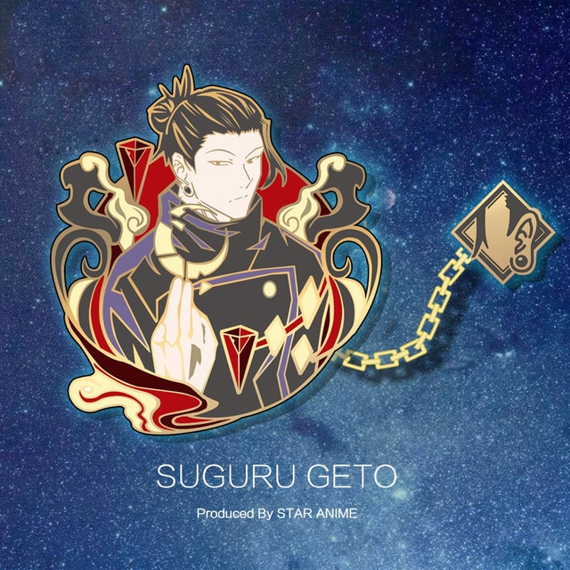 Jujutsu Kaisen – Different Characters Themed Brooch Pins (9 Designs) Pendants & Necklaces
