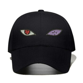 Naruto – Sharingan, and Rinnegan Themed Amazing Caps (10+ Colors) Caps & Hats