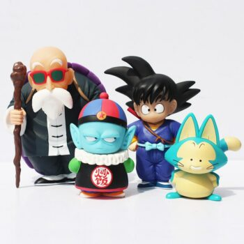 Dragon Ball – Different Characters Themed Action Figures (Set of 4) Action & Toy Figures