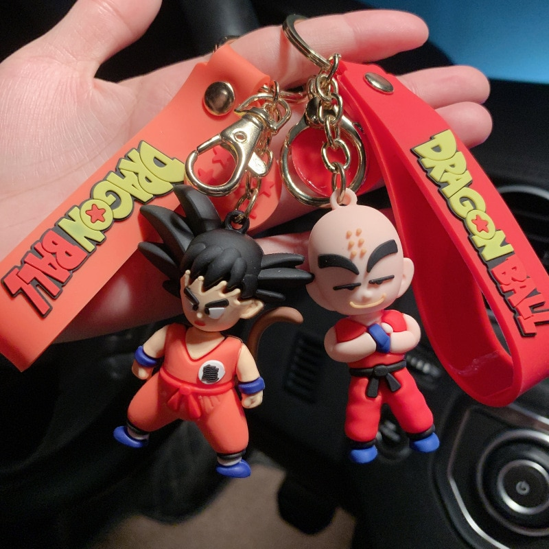 Dragon Ball – All Cool Characters Premium Keychain Figures (9 Designs) Keychains