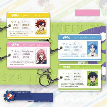 SK8 The Infinity – Different Characters Themed Premium ID Cards (4 Designs) Cosplay & Accessories