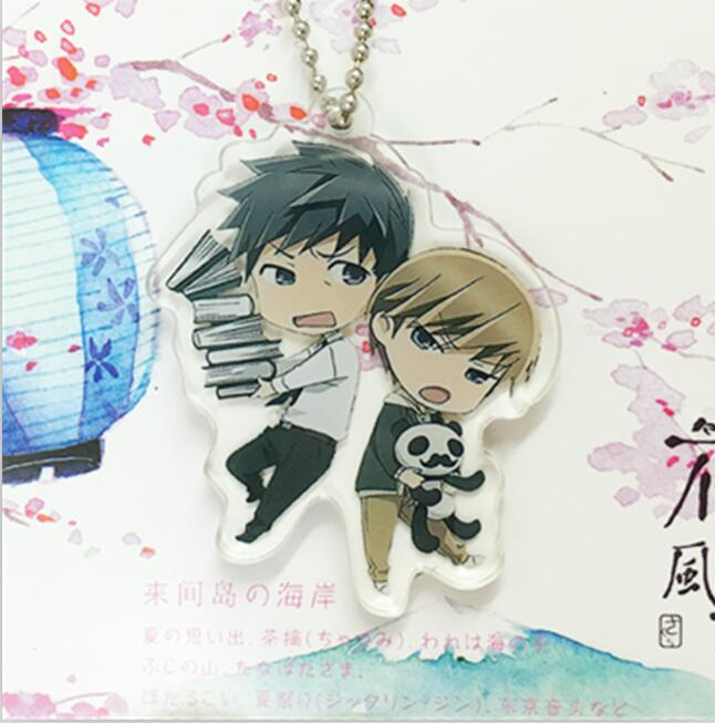 Junjo Romantica – Different Characters Themed Romantic Keychains (4 Designs) Keychains