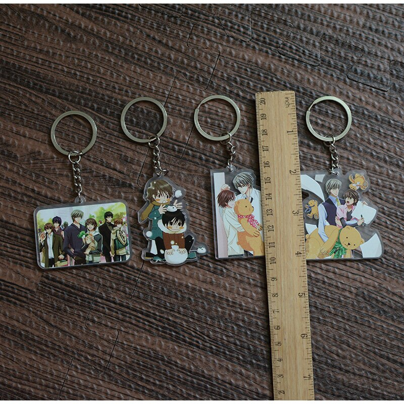 Sekaiichi Hatsukoi – Different Characters Themed Cute Little Keychains (4 Designs) Keychains