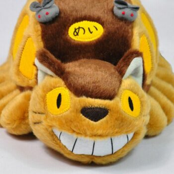 Hayao Miyazaki Animation Bus Totoro Doll Stuffed Toys Totoro Tram Plush Toys Cute Baby Toys For Gifts Uncategorized
