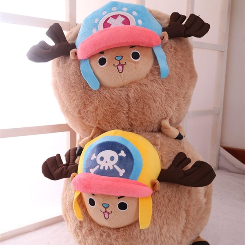 1pc 35cm Cartoon Chopper Plush Doll Stuffed Anime Cute Chopper Plush Toys Soft Hand Warmer Lovely Pillows Kids Girls Gift Uncategorized