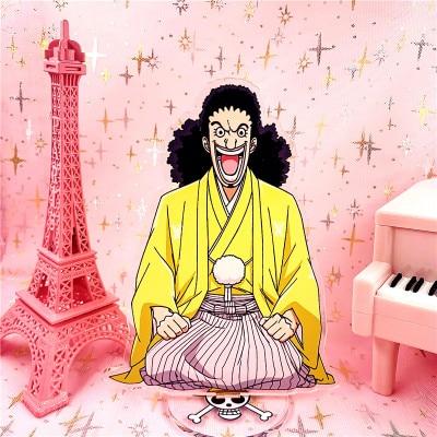 16cm onepiece Roronoa Zoro nami Monkey D. Luffy Acrylic Stand Figure Model Plate Holder Cake Topper Anime Uncategorized