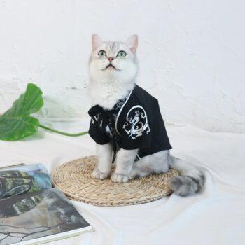 Cat Cloak Pet Dog Cape Leisure Tops Teddy Pet Cat Clothes Spring Summer Poodle Dog Clothes Small Dog Dragon Robe Pet Clothing Uncategorized