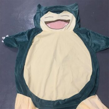 100/150/200cm Giant Snorlax Skin plush toy cover anime pocket snorlax plush pillow Cartoon Soft pillow case with zipper Uncategorized
