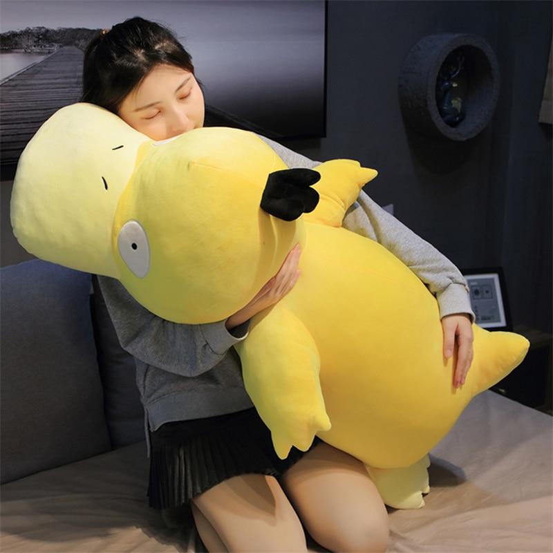 Kawaii Psyduck daze Yellow duck plush Big Size soft pillow Home decoration sofa doll toys for Children girlfriend gift Uncategorized