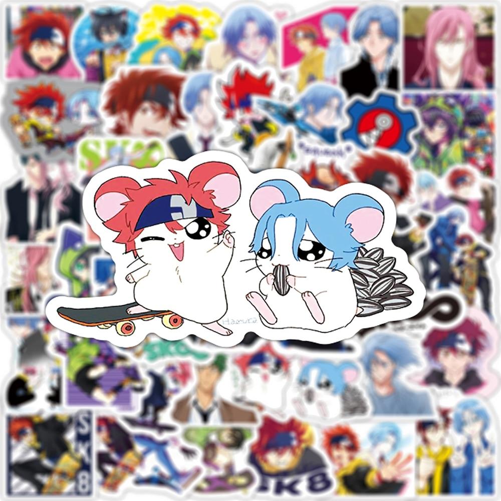 10/30/50PCS Anime SK8 the Infinity Cartoon Graffiti Stickers Travel Luggage Guitar Fridge Laptop DIY Kid Toy Waterproof Sticker Uncategorized